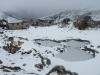 Majada del Potril con nieve