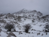 El Pico Miruellu nevado