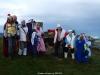 Un grupo de La Curuxa se vistieron para la ocasion