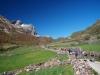 Valle de la Peral al fondo La Penouta