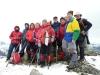 Un grupo de la Curuxa en el Pico Hibeo
