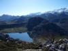 Lago Enol desde la Porra de Enol