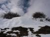 Mucha nieve en el collado el Cabezo