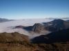 mar de nubes desde el pico Torre