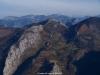 Desde el Pico La Llomba al fondo los Picos de Europa
