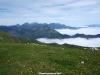 Mar de nubes en el valle del Huerna