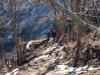 Camino de ascenso hacia la Sierra del Crespón