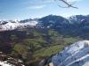 Otra vista de todo el valle y las cumbres que lo rodean