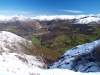 preciosa vista desde la sierra del Crespón