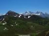 Pico Ferreirua y macizo de las Ubiñas