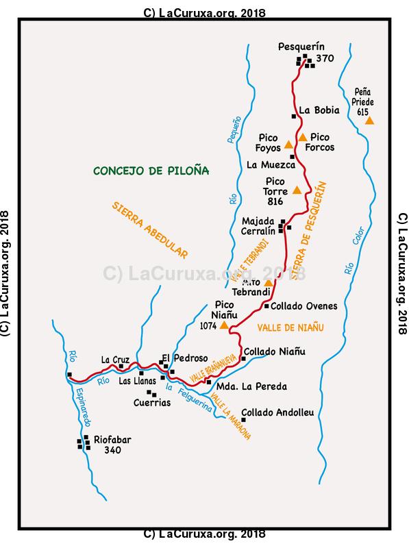 lacuruxa.org 2018 Mapa ruta 20180324