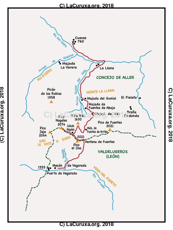 lacuruxa.org 2018 Mapa ruta 20180512