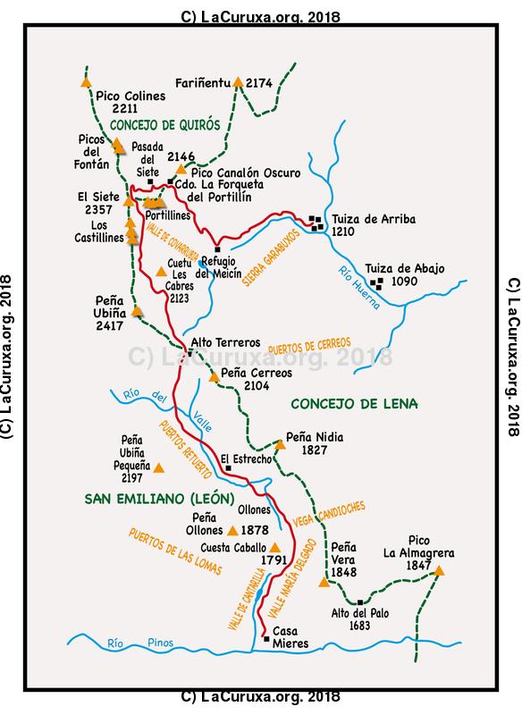 lacuruxa.org 2018 Mapa ruta 20180714
