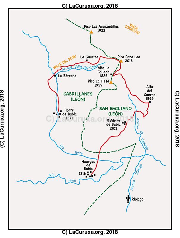 lacuruxa.org 2018 Mapa ruta 20180915