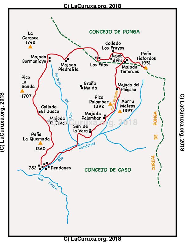 lacuruxa.org 2018 Mapa ruta 20180929